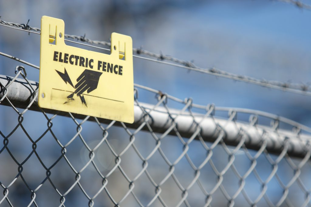Wilmington Secured Parking Electric Fence